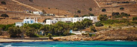Residential complex in Antiparos